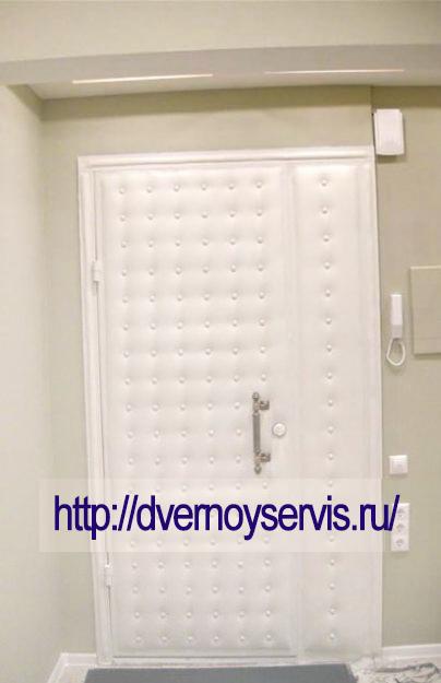 Обивка дверей в Москве